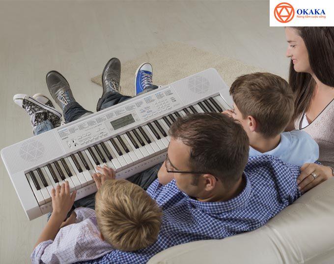 Đàn organ Casio là một trong những lựa chọn hàng đầu cho những người mới học đàn organ bởi những tính năng nổi bật mà nó mang lại