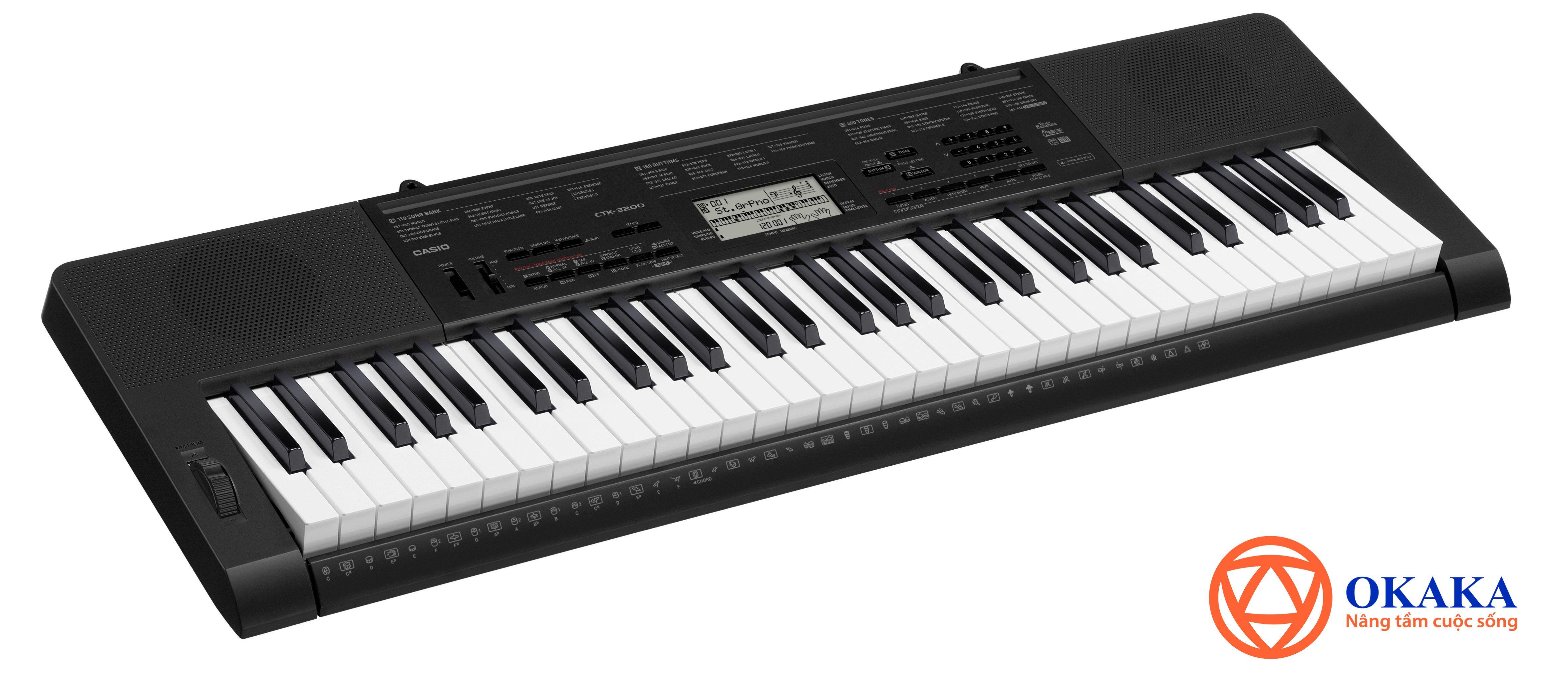 """Hiếm có một cây đàn organ cho người mới học nào có nhiều tính năng cần thiết mà giá lại cực """"hạt dẻ"""" như đàn organ Casio CTK-3200. Phải nói đây là cơ hội.."""