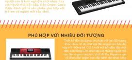 [Infographic] 5 lý do bạn nên mua đàn organ Casio